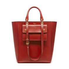 Mulberry   Maple In Rust Sleek Calf  Tote.......