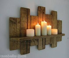 Idea for decorating short wall near entryway #diy_wall_shelf