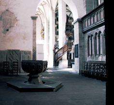 Am Taufstein mit Blick in den Dom in Richtung Orgel  #merseburg #merseburgerdom #ausflug #momentaufnahme
