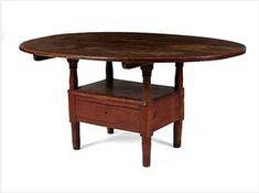 Colonial Sense: Antiques: Hutch Table!