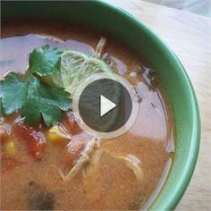 Crock pot Chicken Tortilla Soup - Allrecipes.com