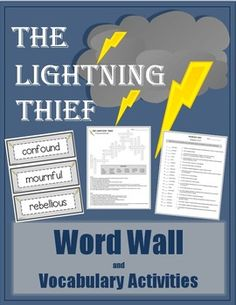 Whether you are using this book as a read aloud or classroom literature set, submerge your students into the rich vocabulary. This vocabulary unit includes: Word Wall Vocabulary, Crossword Puzzles, Definition Strips for Individual or Partner Practice, and Vocabulary Quizzes.
