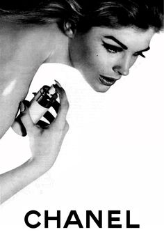 ~ Candice Bergen for Chanel by David Bailey