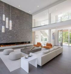Modern House Design 304978206016101495 - Private Residence – Bentleyville,Ohio – Dimit Architects Source by Dream House Interior, Luxury Homes Dream Houses, Dream Home Design, Modern House Design, Interior Design Living Room, Living Room Designs, Modern Houses, Modern Mansion Interior, Luxury Interior Design
