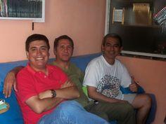 Ibo Urbiola y Jaime Ponce, amigos de la casa.