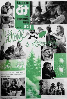 Vánoční Československý program Retro 1, Memories, Program, Christmas, Movie Posters, Archive, Memoirs, Xmas, Souvenirs