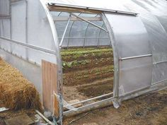 High-tunnel greenhouse