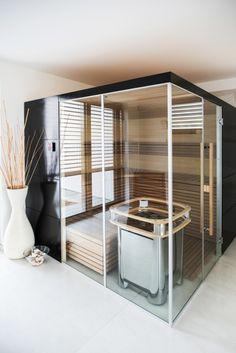 Soukromá sauna v Karlových Varech - Sauna. Divider, Loft, Bed, Furniture, Design, Home Decor, Decoration Home, Stream Bed, Room Decor