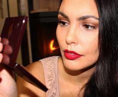 Christmas Make-up Look