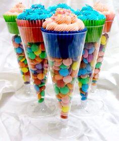 Ideia simples e bacana para festa infantil (e de adultos também)