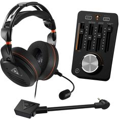Turtle Beach Elite Pro Tournament Gaming Bundle with Headset, Noise-Cancelling Microphone and Audio Controller