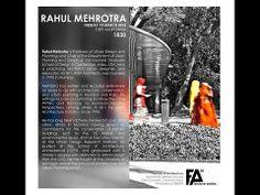 FA Lecture Series 2014 - Prof. Rahul Mehrotra @ CEPT University