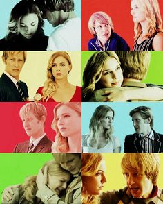 Nolan Ross and Emily Thorne