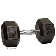 45 Lb Rubber Coated Hex Dumbbell U003eu003eu003e You Can Find Out More Details At The  Link Of The Image.(This Is An Amazon Affiliate Link And I Receive A  Commission For ...