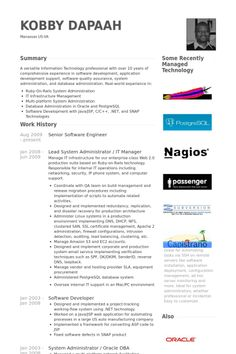 Software Architect Sample Resume Resume Writing Fonts Used  The Best Expert's Estimate  Baseball .
