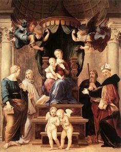 La Madonna del Baldacchino di Raffaello Sanzio