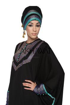 Akhawat Asiana Fashion Butterfly Abaya with Hand Embroidary. Would look amazing with proper hijab Butterfly Abaya, Butterfly Fashion, Hijab Ideas, Turban Hat, Beautiful Hijab, Abaya Fashion, Abayas, Islamic, High Fashion