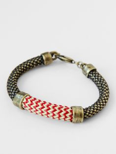 Orly Genger Crosby Bracelet - Red Zig « Pour Porter