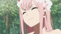 Image shared by Kirisu. Find images and videos about anime girl, kawaii girl and darling in the franxx on We Heart It - the app to get lost in what you love. Manga Anime, Anime Gifs, Anime Art, Steam Artwork, Waifu Material, Zero Two, Aesthetic Gif, Ichimatsu, Ecchi