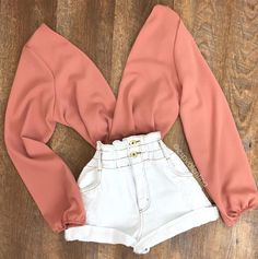 Cute Casual Outfits, Cute Summer Outfits, Stylish Outfits, Mode Outfits, Girl Outfits, Fashion Moda, Womens Fashion, Cute Clothes For Women, Rose Shirts