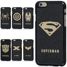 "Super hero Marvel Superman Spiderman Batman Case cover skin for 4.7"" iPhone 6"