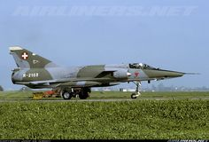Dassault (FW Emmen) Mirage IIIRS - Switzerland - Air Force   Aviation Photo #4030601   Airliners.net Mirage, Fighter Aircraft, Swiss Air, Aircraft, Military, Post War Era, Air Force, Switzerland, Photo