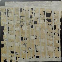 Sans Titre  .Zinc sur Acier 2008 50x50