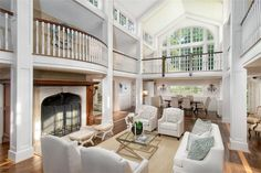 Single Family Home for Sale at A Fascinating House with a Magical Setting. 230 Bedford Road Greenwich, Connecticut,06831 United States