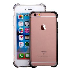 """iPhone 6 Plus Case, iPhone 6S Plus Case, Ibarbe Slim Clear TPU Protective Heavy Duty Case Fit for Apple iPhone 6 Plus (2014) / 6S Plus(2015) 5.5 inch gray. Custom fit case for the iPhone 6 Plus/6S Plus - don't worry if your box says """"iPhone 6 Plus"""" when you receive your case - It fits BOTH!. Made with TPU fusion to offer Full Protection all around the device. Complete prevention of screen damages, screen and surface scratches, and wear-and-tear of normal uses. Specifically design Protects..."""