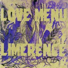 Love Menu - Limerence CD