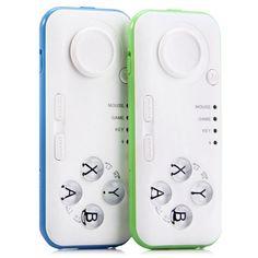 Mando Bluetooth Controlador Para Gafas De Realidad Virtual y Apps 360 - https://vivevirtual.es/producto/mando-bluetooth-controlador-gafas-realidad-virtual-apps-360/ Este es un control inalámbrico (por Bluetooth) portátil, ideal para teléfonos móviles, MID, TV, PC. Se puede utilizar como mando de juegos, ratón inalámbrico, control de la música, libros electrónicos, etc, y para presentaciones de PPT. Características: Tipo de interfaz: USB Modo de vibración: s...