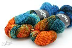 Big Fish in a Little Pond - Lord of Silk DK - Falkland merino & mulberry silk