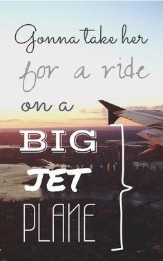 Big Jet Plane - Angus and Julia Stone.