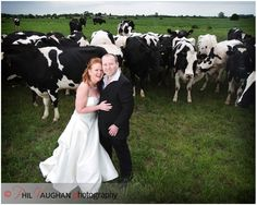 Trash the dress dairy farm