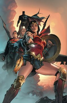 Trinity #3 cover by Clay Mann and Brad Anderson