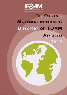 Directory of IFOAM members, 2013