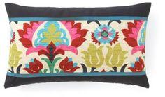 Santana 12x20 Cotton Pillow, Multi