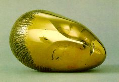 """If perfection had a name, it could have been Brancusi! """"Tête de Muse Endormie"""""""
