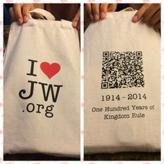 I saw a Eco-bag from one sister. You can scan this QR code directly !! So amazing, isn't it? #JW#QR#1914#100주년#恭喜恭喜 by eileen6363 Thank you. Submit