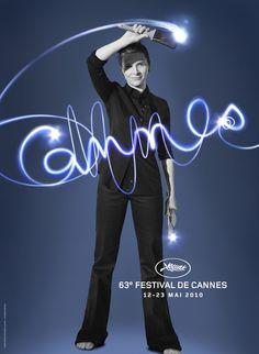 L'affiche officielle du Festival de Cannes 2010 avec Juliette Binoche