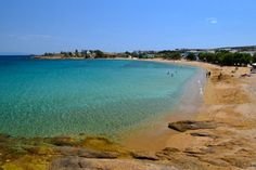 Logaras Beach on Paros.