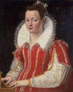 Lavinia Fontana (1552-1614) Portrait of Bianca Cappello (1548-1587) 1590
