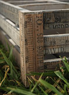 Yardstick Crates
