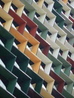 Pattern - A'Beckett Street Tower, Melbourne designed by Elenberg Fraser