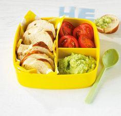 Avocado-Dip - Herzhafte Büro-Snacks - 1 - [ESSEN & TRINKEN]