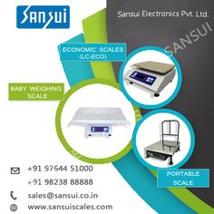 Sansui Electronics India largest Digital and Electronic weighing Scales Manufacturer and Supplier. As well as we provide Taximeter,crane scale and Weighbridge Jewelry Scale, Eco Baby, Weighing Scale, Electronics, Scale, Virgos, Libra, Balance Sheet