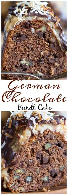 German Chocolate Bundt Cake pin 2