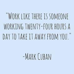 Work until your proud