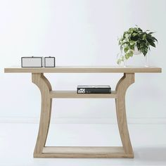 Modern and Contemporary Vaughan Hall Table and Console- Elm Wood and Timber   Urban Couture - Designer Homewares & Furniture Online
