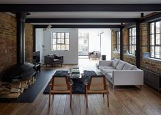 This Industrial London Home Is All Kinds Of Beautiful. When can we move our office inside here?